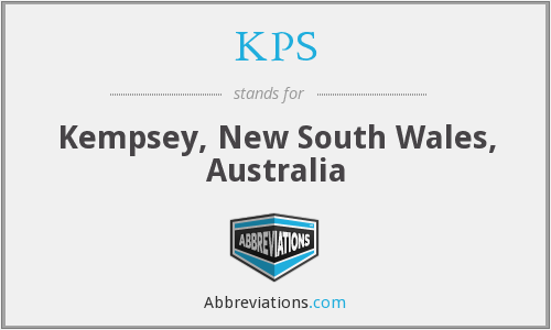 KPS - Kempsey, New South Wales, Australia