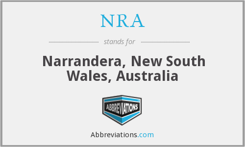 NRA - Narrandera, New South Wales, Australia