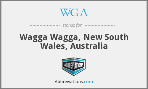 WGA - Wagga Wagga, New South Wales, Australia