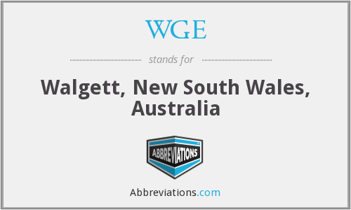 WGE - Walgett, New South Wales, Australia