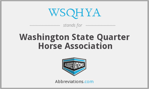 What does WSQHYA stand for?
