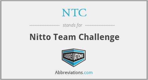 NTC - Nitto Team Challenge