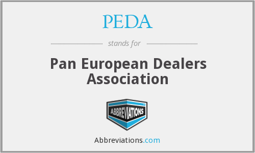 PEDA - Pan European Dealers Association