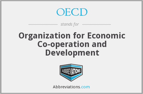 OECD - Organization for Economic Co-operation and Development