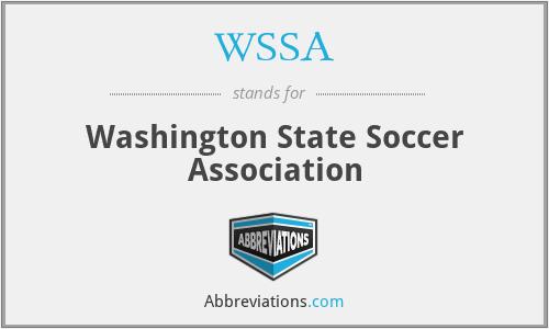 WSSA - Washington State Soccer Association