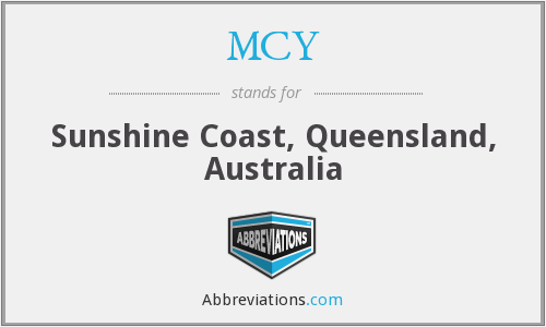 MCY - Sunshine Coast, Queensland, Australia