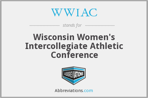 WWIAC - Wisconsin Women's Intercollegiate Athletic Conference