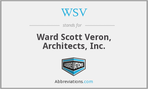 WSV - Ward Scott Veron, Architects, Inc.