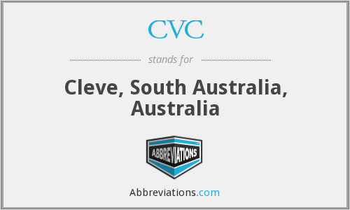 What does CVC stand for?