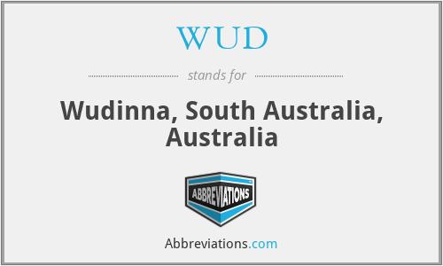 WUD - Wudinna, South Australia, Australia