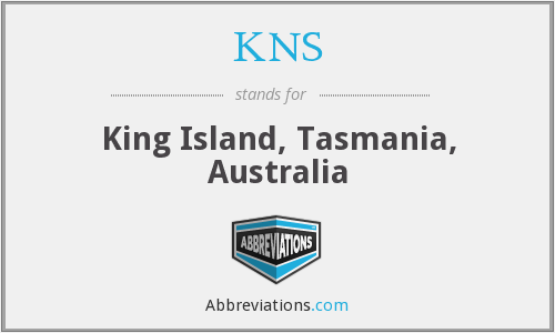 What does KNS stand for?