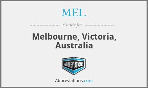 MEL - Melbourne, Victoria, Australia