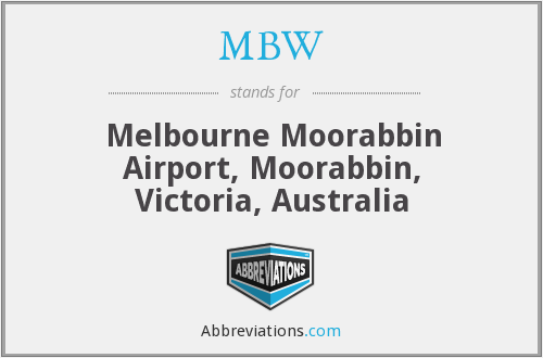 MBW - Melbourne Moorabbin Airport, Moorabbin, Victoria, Australia