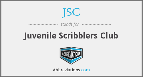 JSC - Juvenile Scribblers Club