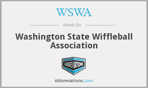 WSWA - Washington State Wiffleball Association