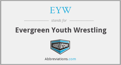 EYW - Evergreen Youth Wrestling