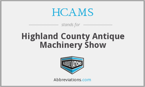 HCAMS - Highland County Antique Machinery Show