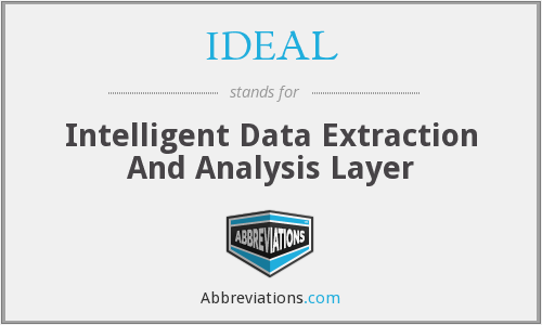 IDEAL - Intelligent Data Extraction And Analysis Layer