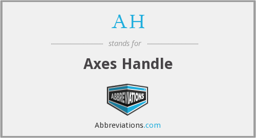 AH - Axes Handle