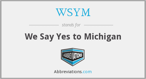 WSYM - We Say Yes to Michigan