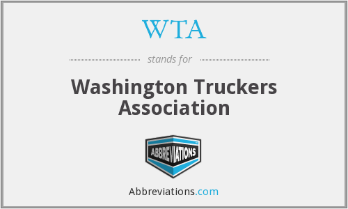 WTA - Washington Truckers Association