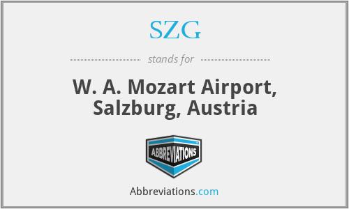 SZG - W. A. Mozart Airport, Salzburg, Austria
