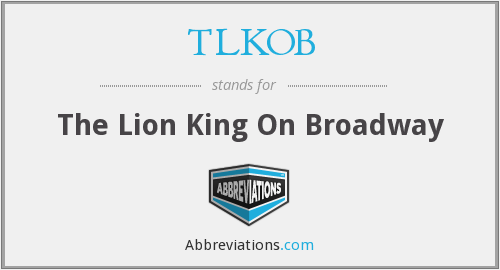 What does TLKOB stand for?