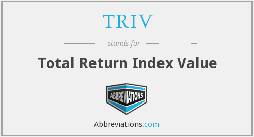 What does TRIV stand for?