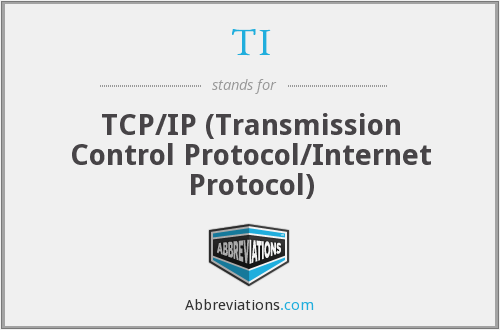 TI - Tcp Ip