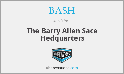 BASH - The Barry Allen Sace Hedquarters