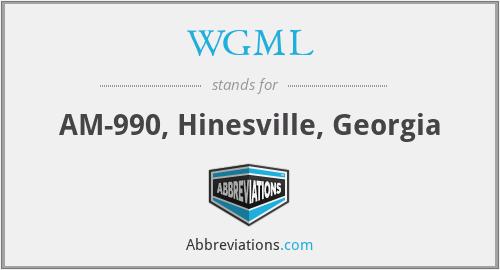 WGML - AM-990, Hinesville, Georgia