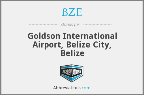BZE - Goldson International Airport, Belize City, Belize