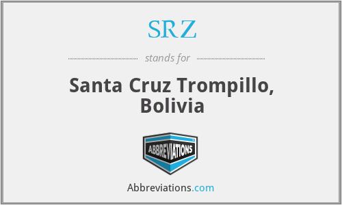 SRZ - Santa Cruz Trompillo, Bolivia