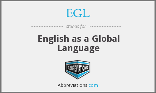 EGL - English as a Global Language