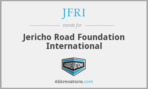 JFRI - Jericho Road Foundation International