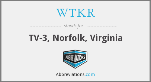 What does WTKR stand for?