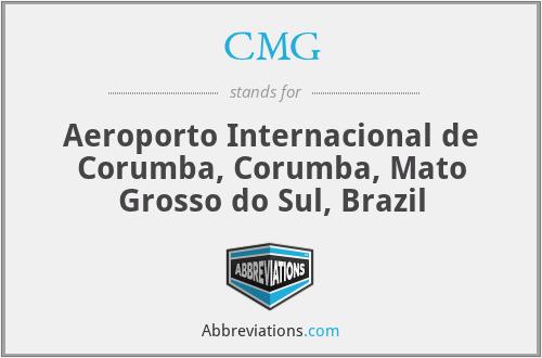CMG - Aeroporto Internacional de Corumba, Corumba, Mato Grosso do Sul, Brazil