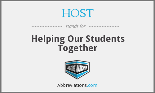 HOST - Helping Our Students Together