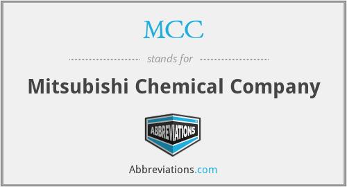 MCC - Mitsubishi Chemical Company