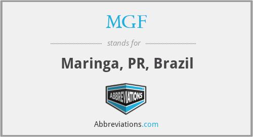 MGF - Maringa, PR, Brazil