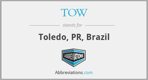 TOW - Toledo, PR, Brazil