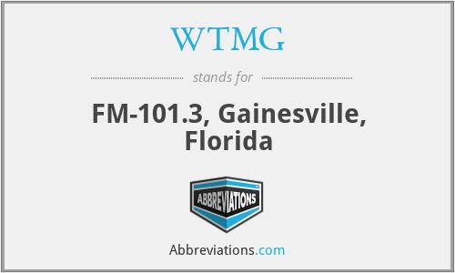 WTMG - FM-101.3, Gainesville, Florida