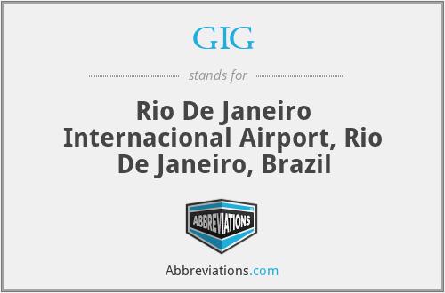GIG - Rio De Janeiro Internacional Airport, Rio De Janeiro, Brazil