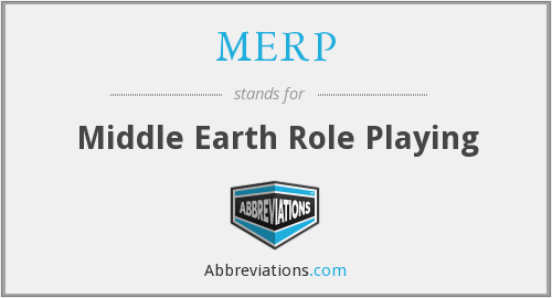 MERP - Middle Earth Role Playing