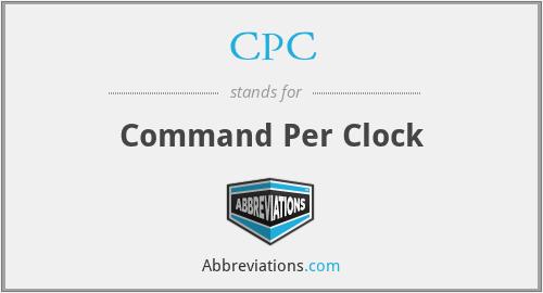CPC - Command Per Clock