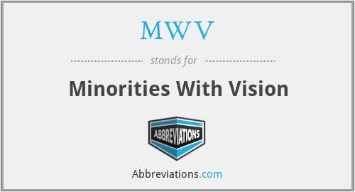 MWV - Minorities With Vision