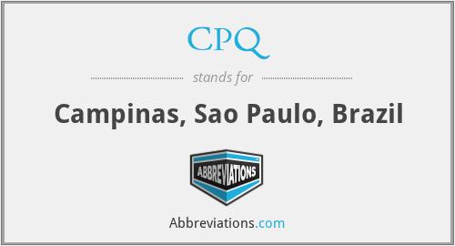 CPQ - Campinas, Sao Paulo, Brazil