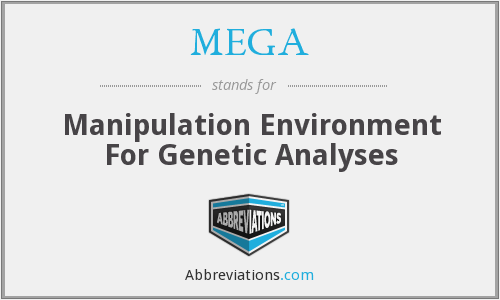 MEGA - Manipulation Environment For Genetic Analyses