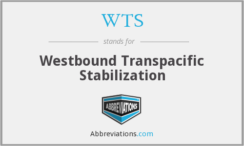 WTS - Westbound Transpacific Stabilization
