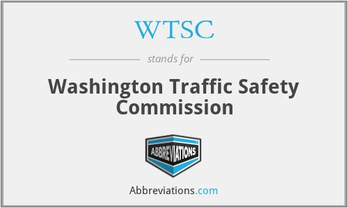 WTSC - Washington Traffic Safety Commission